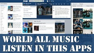 Jango Radio app Review Listen International any Music In One Apps Jango Radio Station In Bangla
