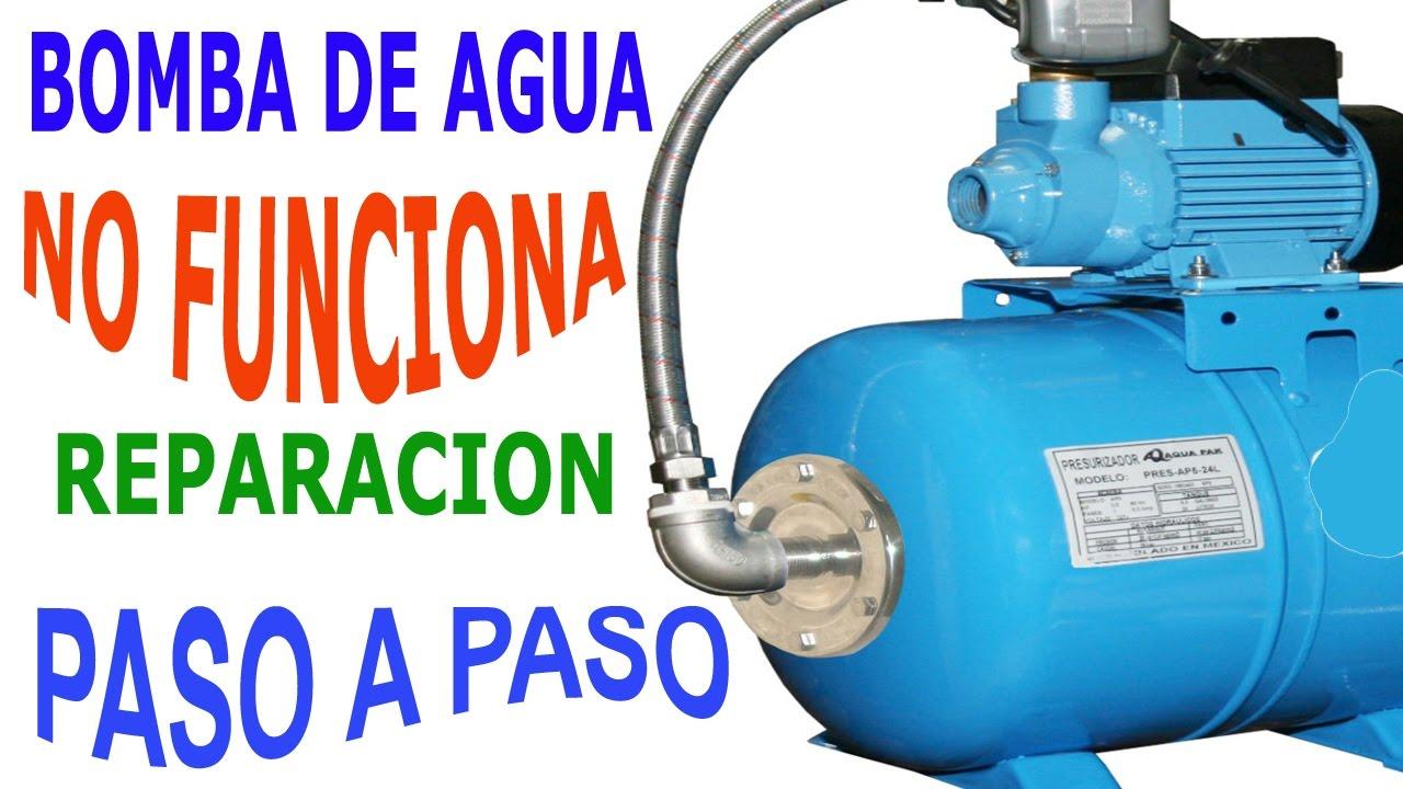 Falla hidroneumatico hidrosfera bomba de agua no enciende for Como fabricar tanques de agua para rusticos