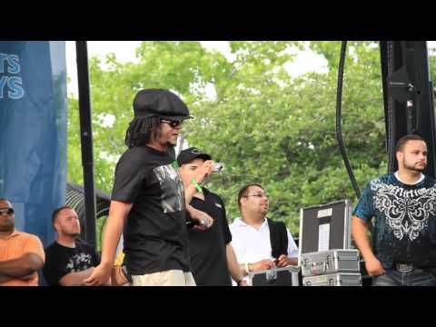 Tego Calderon Freestyle @ highbridge park - Pepsi Musica
