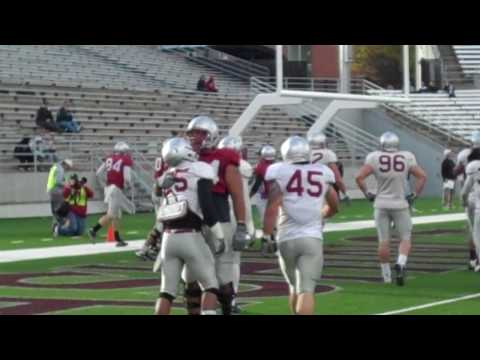 Logwone Mitz TD Catch from Jeff Tuel at Cougar Spring Game, April 24