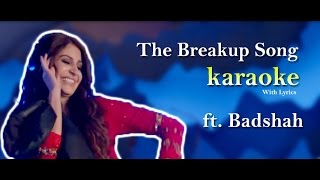 Breakup Karaoke ( ae dil hai mushkil ) Lyrical Video | Sing Choice