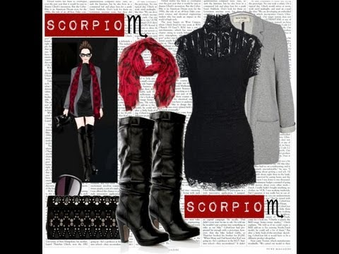 Scorpio Fashion With Youtube