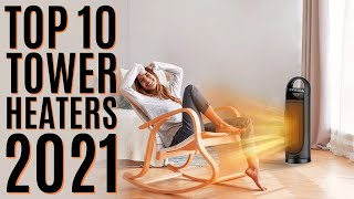 Top 10: Best Portable Tower Space Heaters of 2021 / Ceramic Heater, Electric Heater for Indoor Use