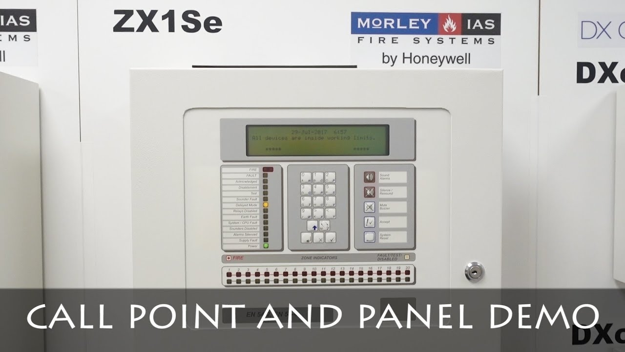 TESTING MORLEY IAS ZX1Se PANEL | HOCHIKI MCP | FIRE ALARM DEMO - YouTube