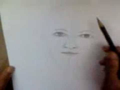 Lukis Full Wajah Dengan Pensil 1 Youtube