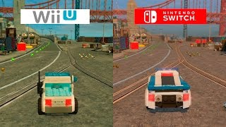 Lego City Undercover | Switch VS Wii U | GRAPHICS COMPARISON | Comparativa