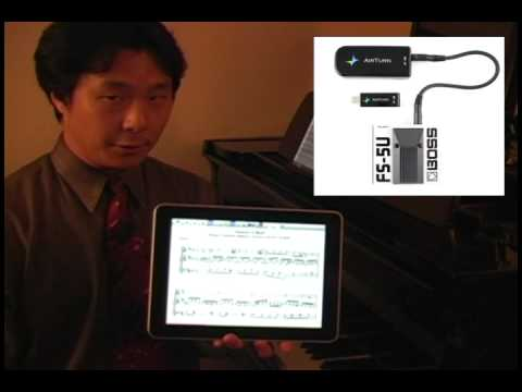 A first look at the MusicReader App for the iPad