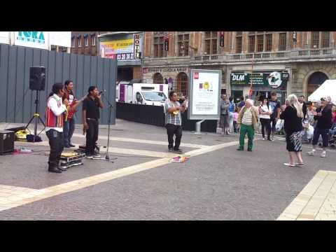Braderie de Lille 2013 - Groupe Peruvien