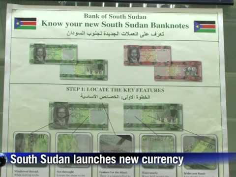 S.Sudan launches new currency