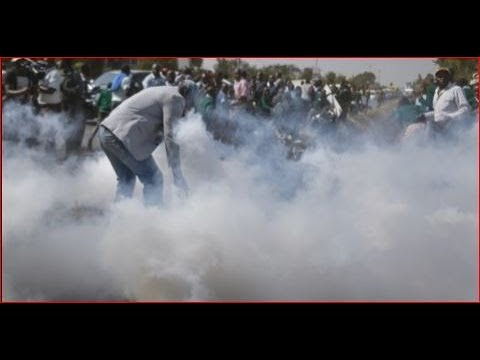 Jubilee and NASA supporters clash in Lare Meru County ahead of Raila Odinga's visit