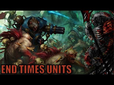 Units from the End Times in Total War Warhammer 3 - Stormfiends, Morghast, and More Discussion |