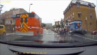 montreal fire trucks responding including spare command post 3 clips mfd sim