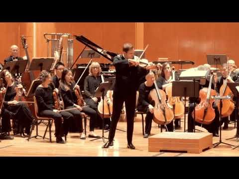 "Stefan Milenkovich: J.S. Bach ""Allemande"" from Partita No. 2 in D minor, BWV 1004"