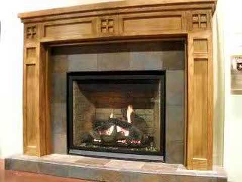 Kett's Lennox EDLV40 gas fireplace - YouTube