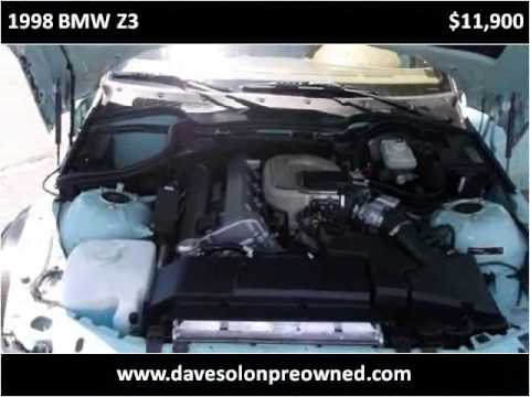 1998 BMW Z3 Used Cars Colorado Springs CO