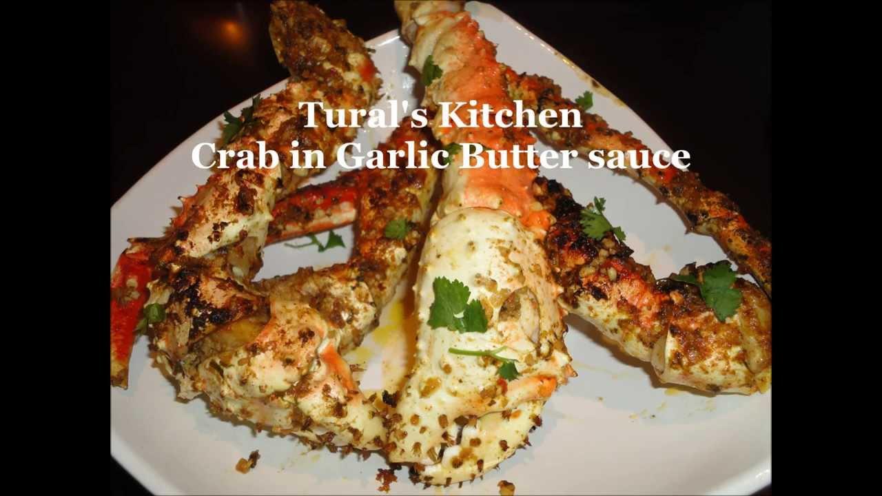 Crab In Garlic Butter Sauce Youtube
