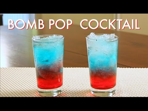 How To Make A Bomb Pop Cocktail| Drinks Made Easy