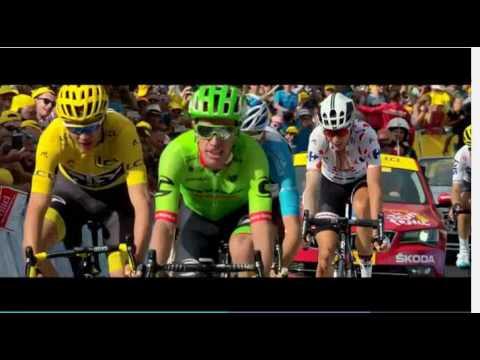 itv4 tour de france 2017 closing montage