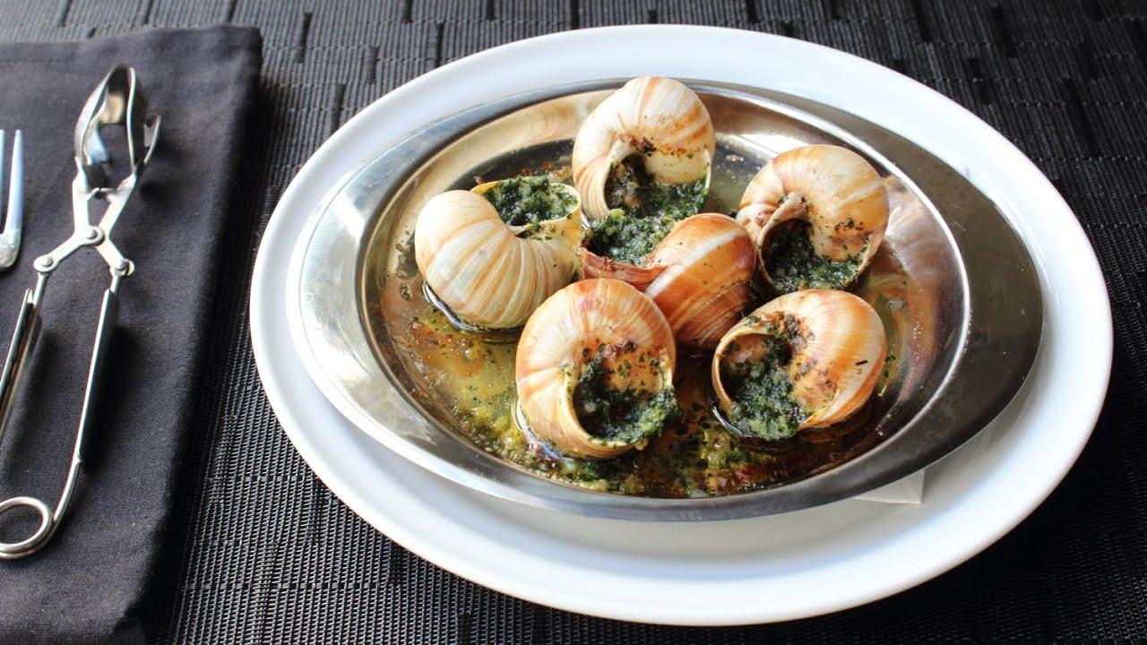 Grape snail: cooking recipe. Snail Food 14