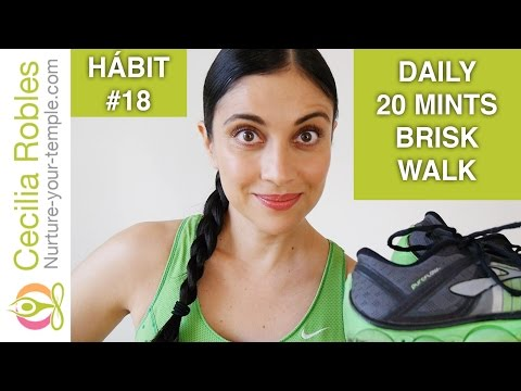 Habit #18 - Your daily 20 minutes brisk walk