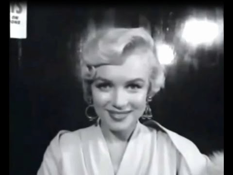 "Marilyn Monroe on Stuttering -  Director""You Don't Stutter"" Marilyn ""That's what you think"""