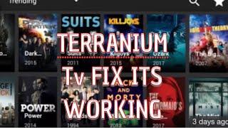 TERRANIUM TV NOT WORKING ? FIX IT NOW/TERRANIUM TV is WORKING