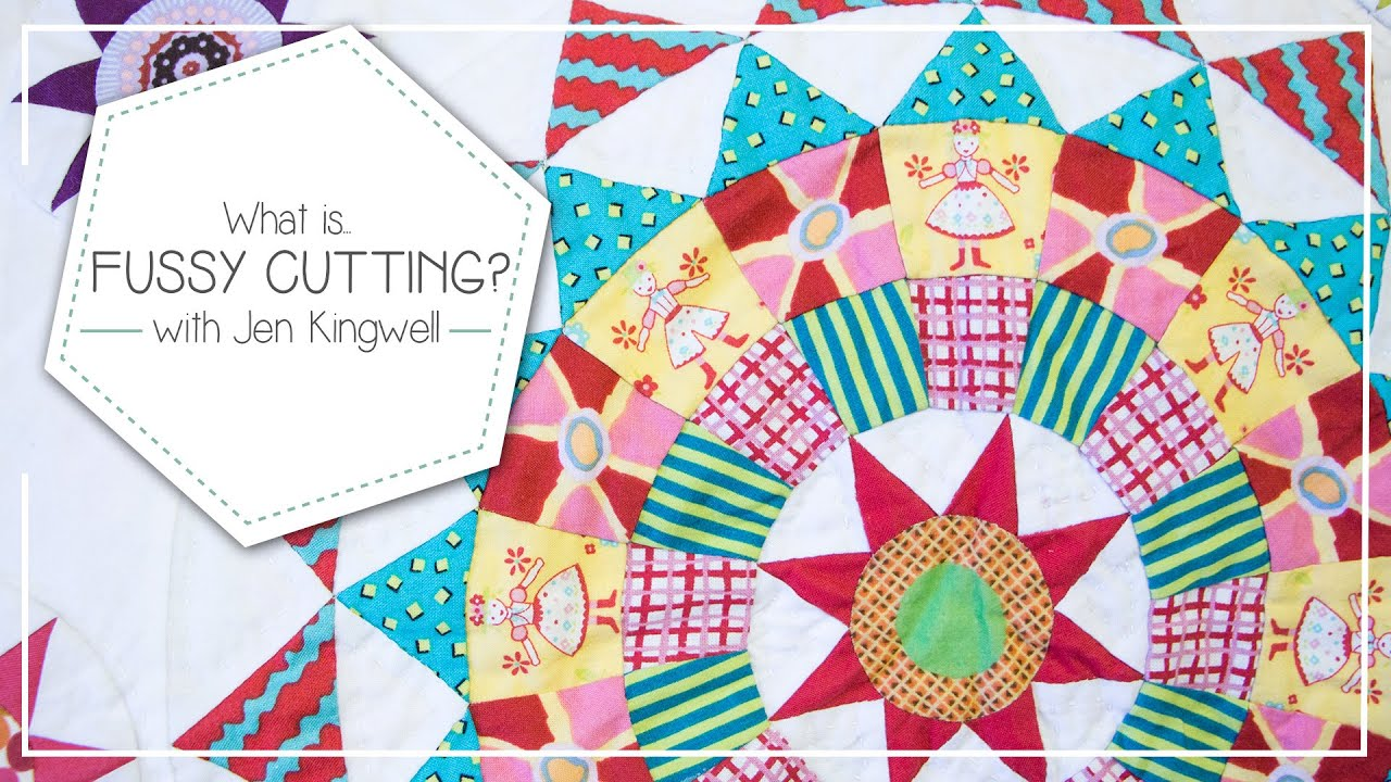 What is Fussy Cutting and How to Fussy Cut Quilting Fabrics by Jen ... : quilt cutting templates - Adamdwight.com
