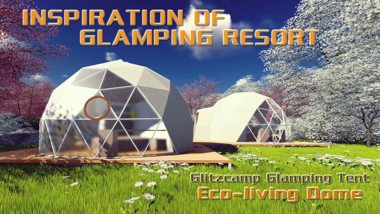 Park/Lakeside Glamping Campsite/Resort Design Ideas - Glitzcamp Glamping Tent Manfufacturer