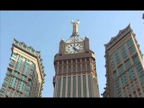 69a4c4dd8 سر مفاجئ تم كشفه عن برج الساعة في مكة المكرمة! - YouTube