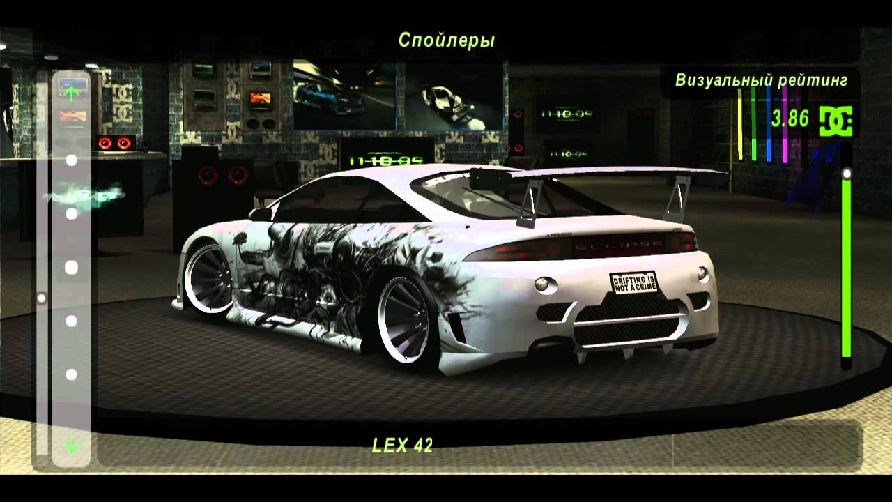 nfsu2 spoilers pack preview youtube. Black Bedroom Furniture Sets. Home Design Ideas