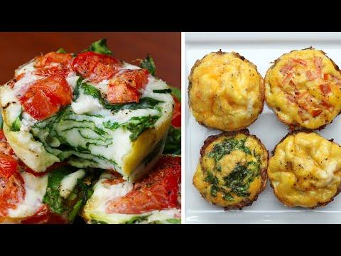 Meal-Prep Egg Cups 4 Ways
