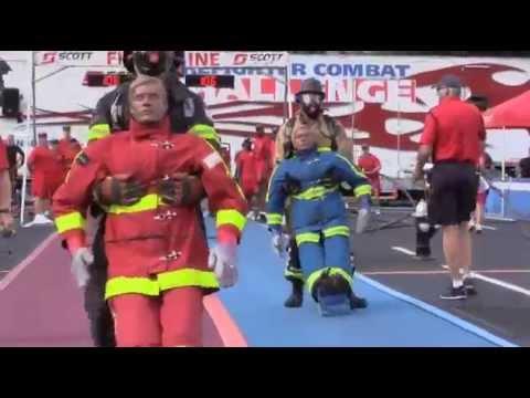 Ryan Fitzgerald World Record Firefighter Combat Challenge