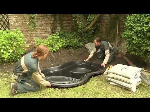 Gartenideen gartenteich anlegen gestalten teich mit for Gartenteich anlegen fertigteich