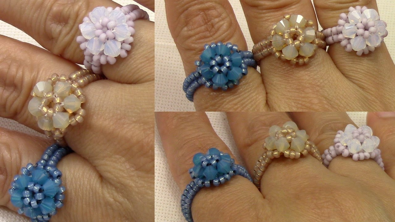 handmade jewelry elegant trio ring youtube