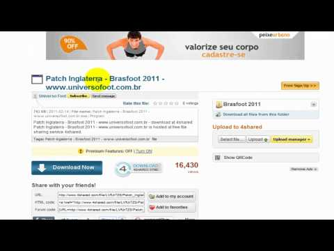 BRASFOOT PATCHES 2011 GRATUITO DO DOWNLOAD