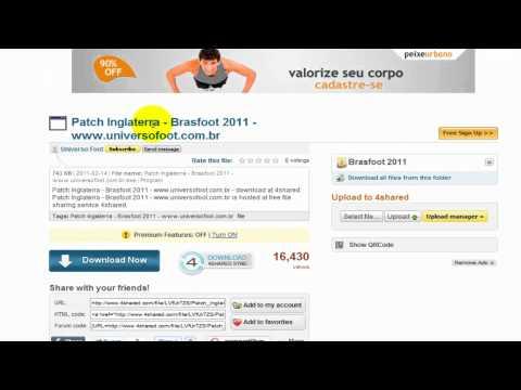2011 BAIXAR BRASFOOT REGISTRO ATUALIZADO DO