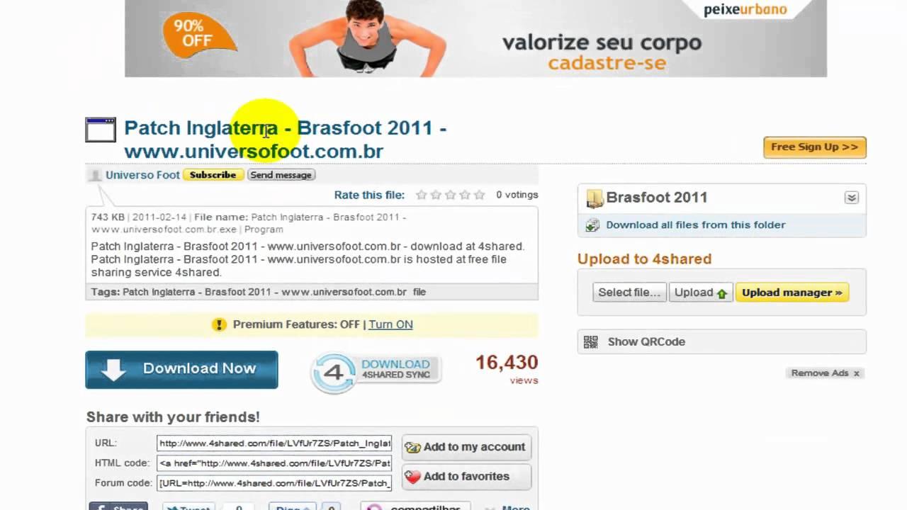 patch da italia brasfoot 2011