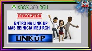 Entro na LinkUp mas Reinicia meu Xbox RGH -[ Resolvido ]- -(nº950)