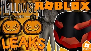 [LEAK] ROBLOX NEW HALLOWEEN ITEMS 2018 | Leaks and Prediction