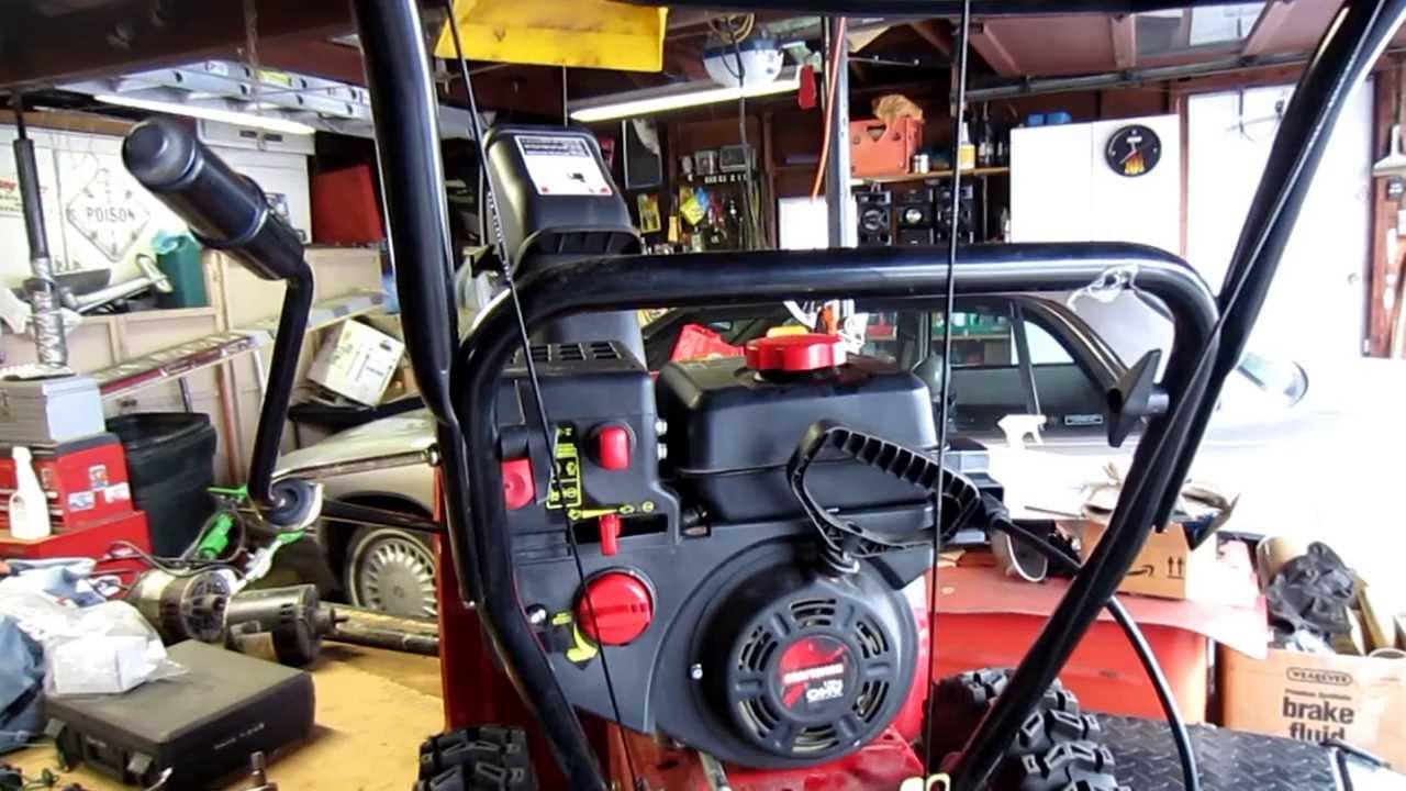 small resolution of craftsman snow blower repair