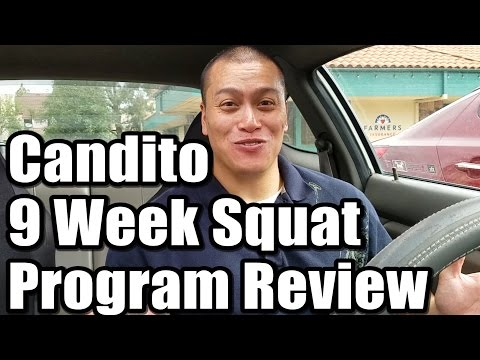 Candito 9 Week Squat Program Review & My Mistakes