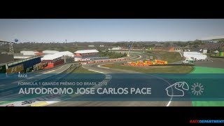F1 2012 The Game - McLaren Mercedes @ Interlagos (Brazil) (PC HD)