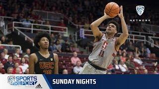 Highlights: Stanford men's basketball beats USC with halfcourt 3-pointer