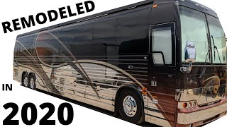 THE NICEST PREVOST COUNTRY COACH I HAVE SEEN