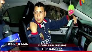 Raqueteros adolescentes: Policía captura a  jóvenes delincuentes en La Victoria y El Callao