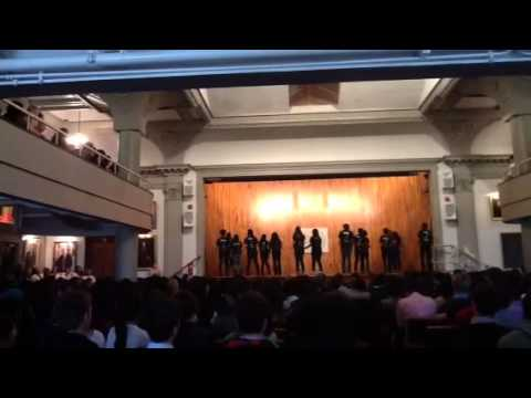 Phillips Exeter Academy Precision Dance Assembly 2012-2013