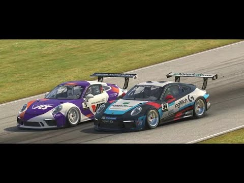 Porsche iRacing eSports Supercup - Round 2 at the Mid Ohio Sport Car Course