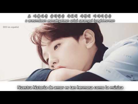 Baekhyun  [EXO] - Like Rain Like Music [Sub Esp + Rom + Han]