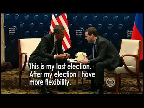 Obama's open mic slip on missile defense system