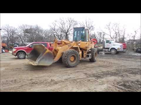 1989 Case 721 wheel loader for sale | no-reserve Internet auction December 28, 2017
